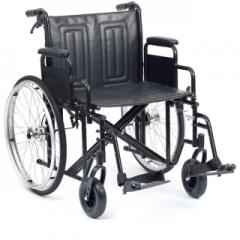 Bariatric Self Propelled Wheelchair with Drum Brakes